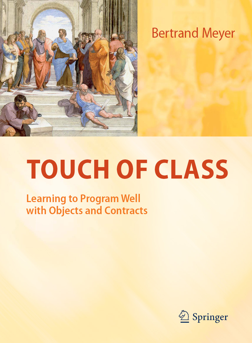 Touch of Class textbook cover